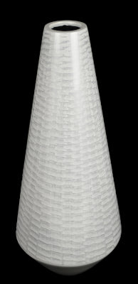 Gifts Actually  Lacquered - White Range - Vase (Tear drop)
