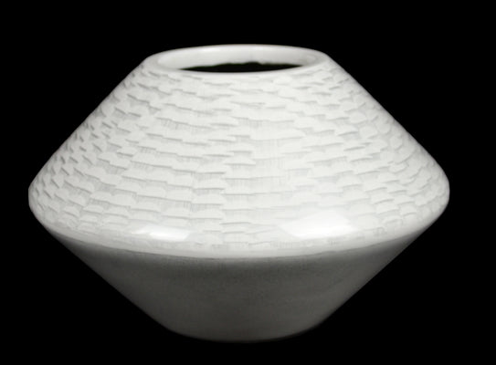 Gifts Actually - Lacquered - White Range - Vase (Round)