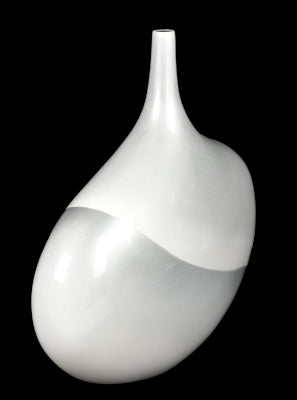 Gifts Actually - Lacquered - White Range - Vase (Stem-Round)