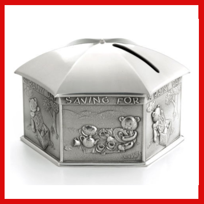 Gifts Actually - Royal Selangor Pewter- Rainy Day Money Box