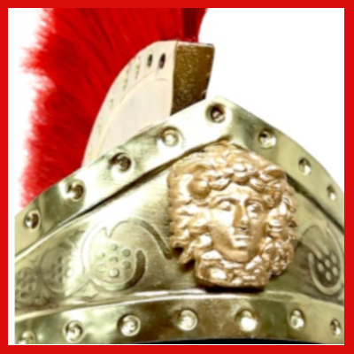 Gifts Actually -Helmet – Roman (Praetorian) Imperial Guard (Detail)