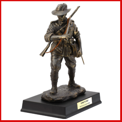Gifts Actually - Sands of Gallipoli (SOG) Stand To Fight - Australian Light-horse Figurine