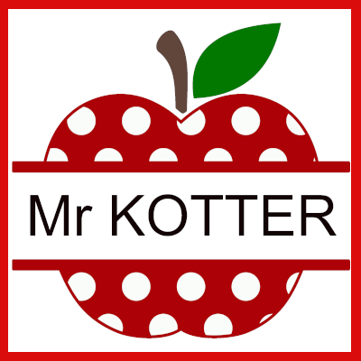 Gifts Actually - Keyring - Teacher gift - Polka Dot Apple (Personalised)