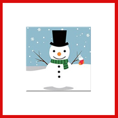 Gifts Actually - Paint By Numbers Kids - (DIY Paint kit) - Snowman
