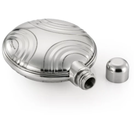 Gifts Actually - Streamline Hip Flask - Royal Selangor Pewter