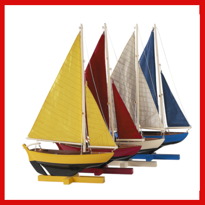 Gifts Actually - Sunset Sailers (Set of 4 dinghies)