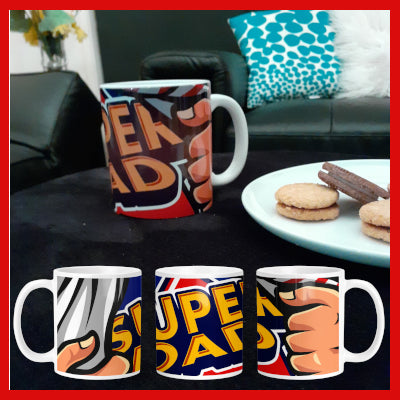 Gifts Actually - Fathers Day Mug \ Super Dad Mug