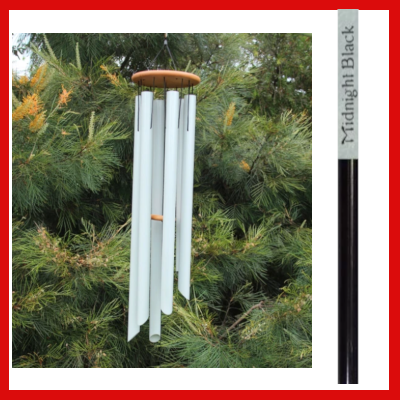 Gifts Actually - Harmony Wind-chime - Symphony Chime - Midnight Black