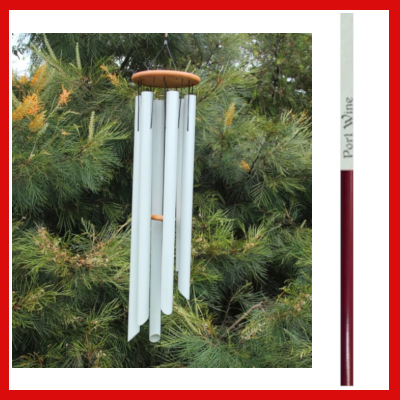 Gifts Actually - Harmony Wind-chime - Symphony Chime - Port Wine