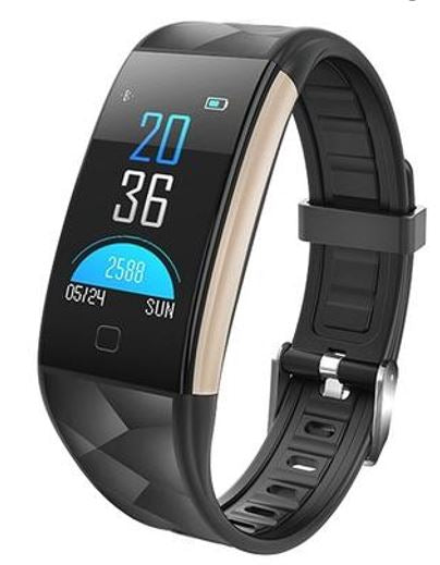 Gifts Actually - Watch - T20 Smart Watch - Bluetooth - Sports Tracking -Iphone/Android - Black