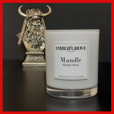 Gifts Actually - Amber Grove: The Mandle - Soy Wax Candle for Men