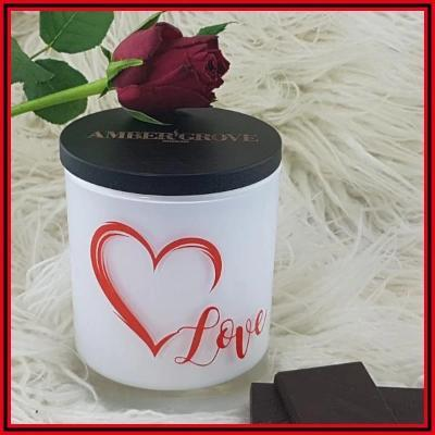 Gifts Actually - Amber Grove Soy Wax Candle - Romance - Love