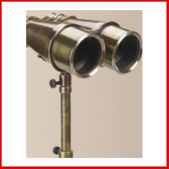 Gifts Actually - Victorian Binoculars with Tripod - Replica