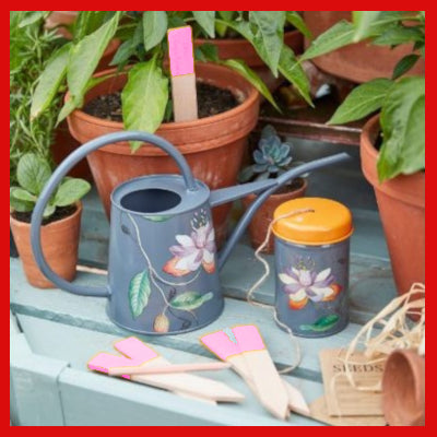 Gifts Actually - Burgon & Ball Watering Can - Passiflora (Indoor)