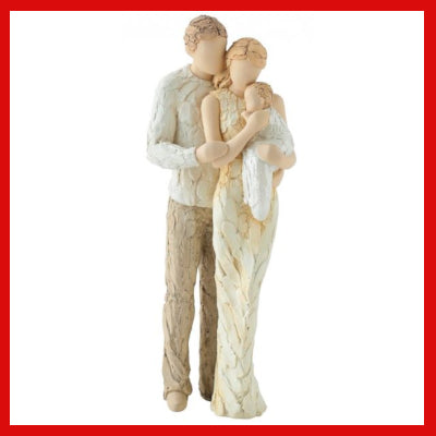 Gifts Actually - Words from the heart Figurine - Welcomed to the World