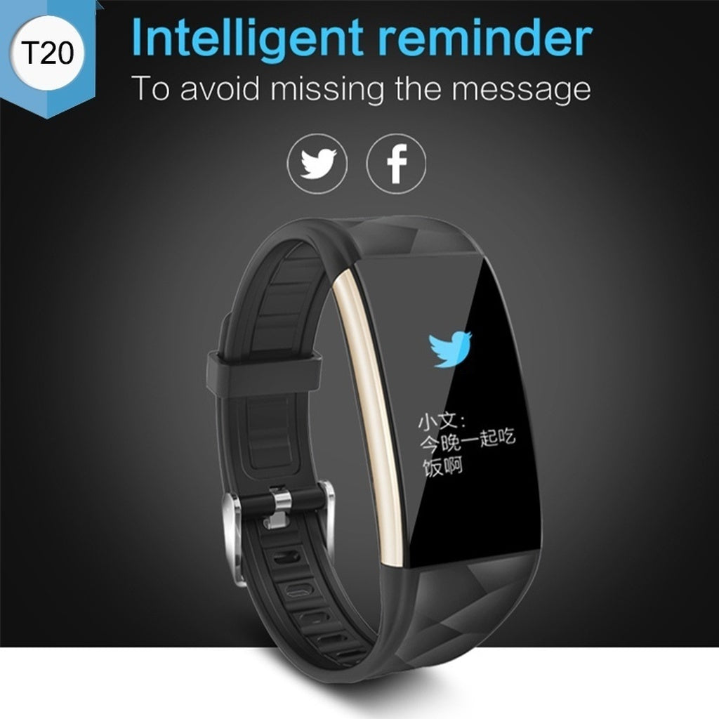 Gifts Actually - Watch - T20 Smart Watch - Bluetooth - Sports Tracking -Iphone/Android