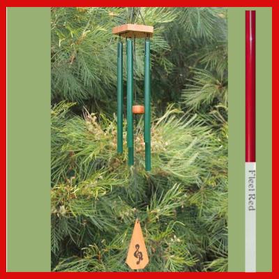 Harmony Wind-chime - House Chime - Fleet Red