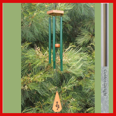 Harmony Wind-chime - House Chime - Golden Delight