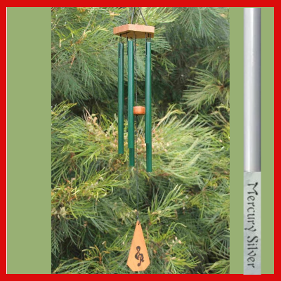 Harmony Wind-chime - House Chime - Mercury Silver