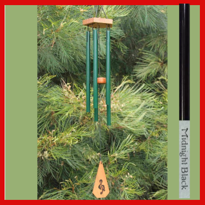 Harmony Wind-chime - House Chime - Midnight Black