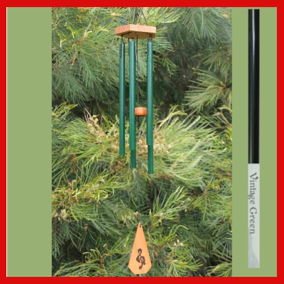 Harmony Wind-chime - House Chime - Vintage Green