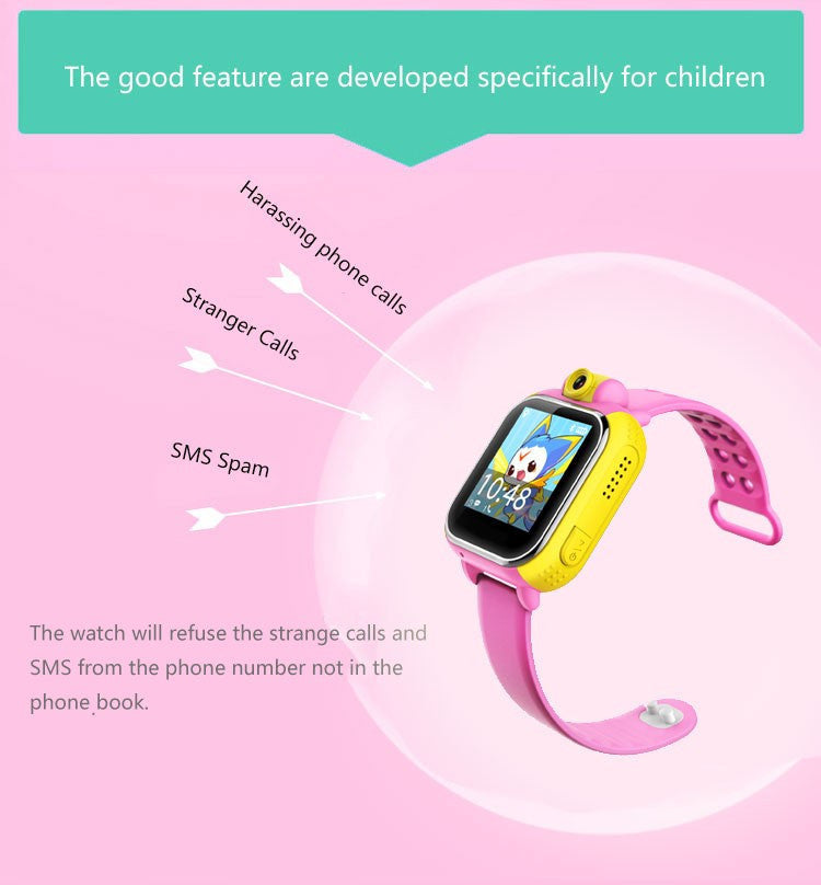 Kids GPS Wrist Watch - GPS & SOS