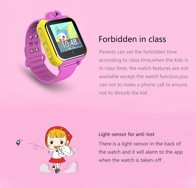 Kids GPS Wrist Watch - Features