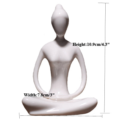 Gifts Actually - Yoga figurines - Lotus 1