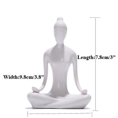 Gifts Actually - Yoga figurines - Lotus 3
