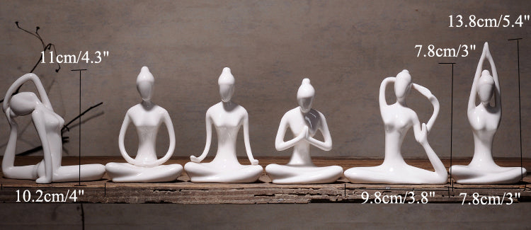Gifts Actually - Yoga figurines - collection