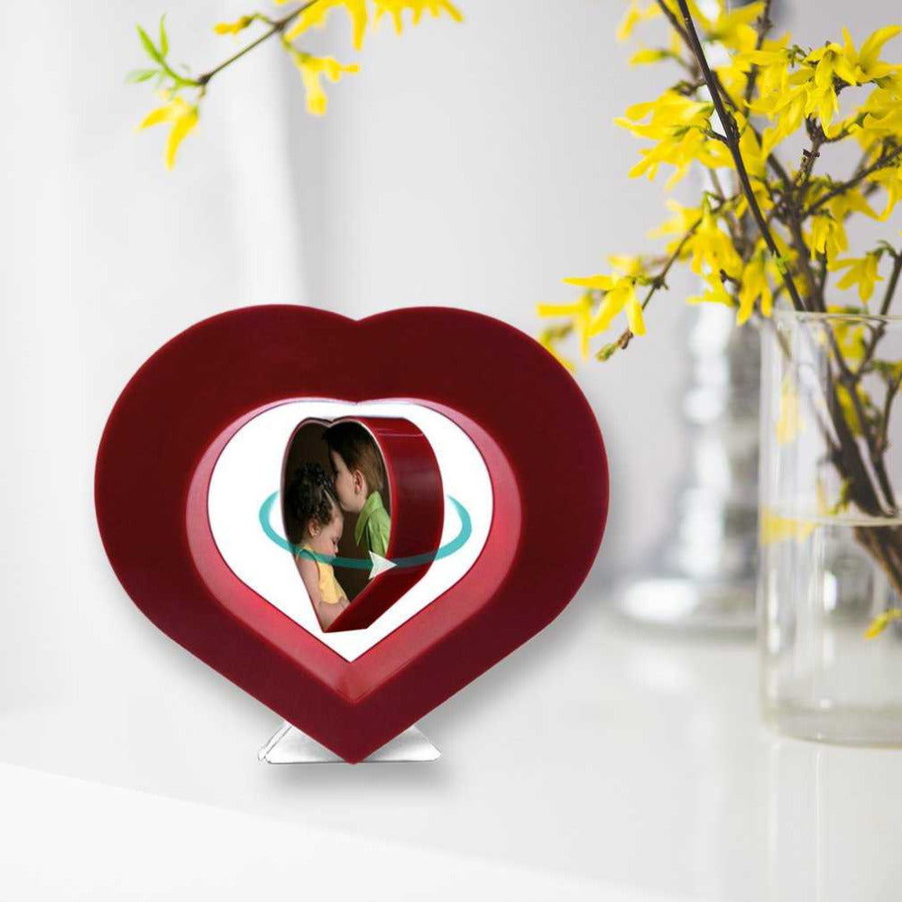 Photo frame -  Levitating Heart on display