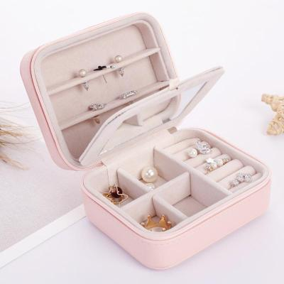 Gifts Actually - Jewellery Box - Travel / Business / Kids - Pink