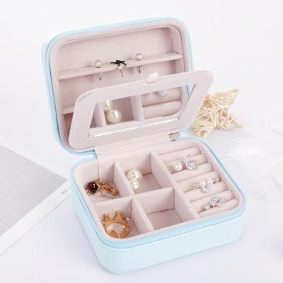 Gifts Actually - Jewellery Box - Travel / Business / Kids - Blue