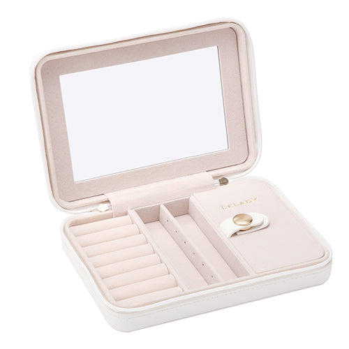 Gifts Actually - Leather Look Travel Jewellery Box / Organiser