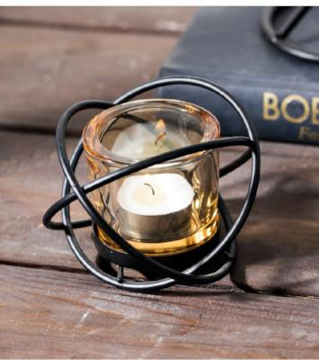 Gifts Actually - Candle Holder - Glass (Tea light / Votive) Nordic Design - Single Sphere