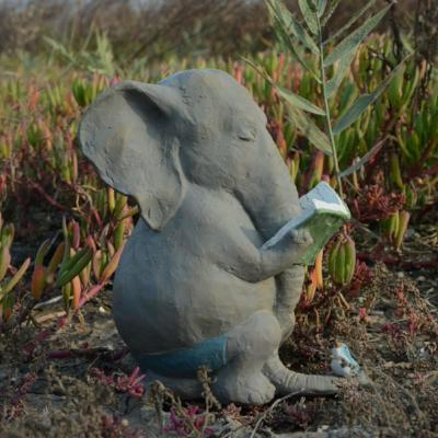 Gifts Actually - Elephant figurine - Garden or home (Birds)