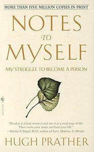 Notes To Myself: My Struggle Become A Person Book