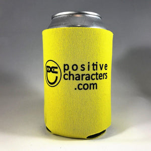 Yellow Neoprene Can Cooler Coolers
