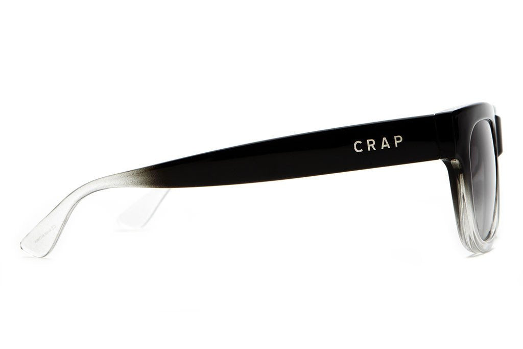 CRAP - The Garageland Gloss Black Gradient w/ Grey Gradient CR-39 Lenses