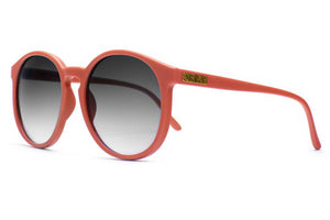 CRAP - The Human Fly Matte Coral w/ Grey Gradient CR-39 Lenses
