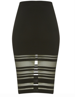 Bardot - Split Midi Skirt