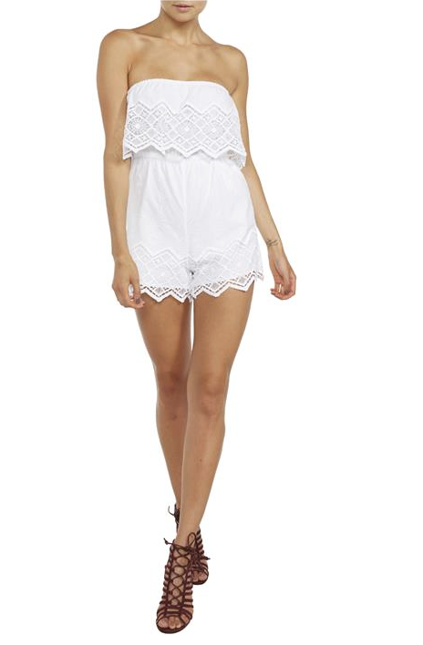 Bardot - Veil Lace Play suit