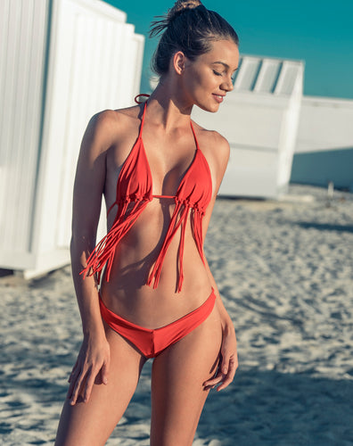 NUSA top X BAIA bottom // Coral