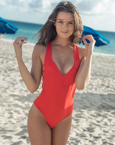 CATARINA One Piece // Coral