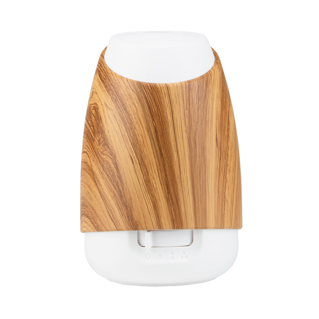 white bamboo oil diffuser