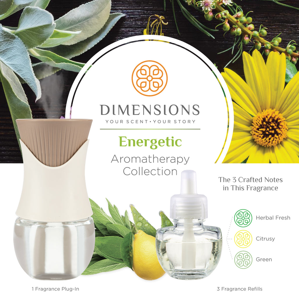 Energetic Collection with Fragrance Plug-in
