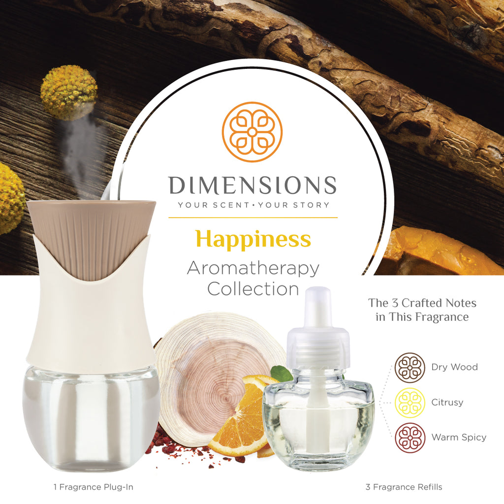 Happiness Aromatherapy Collection with Fragrance Plug-in