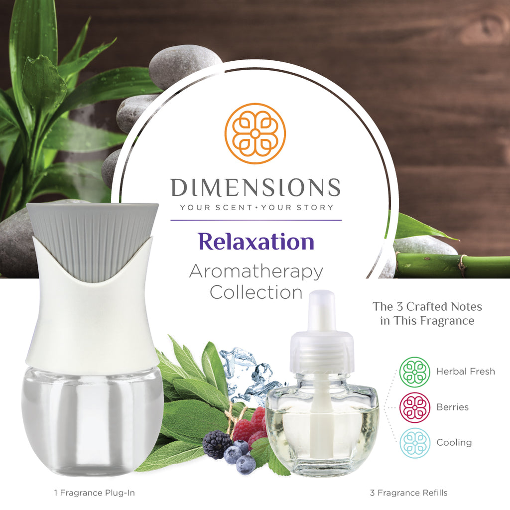 Relaxation Aromatherapy Collection with Fragrance Plug-in