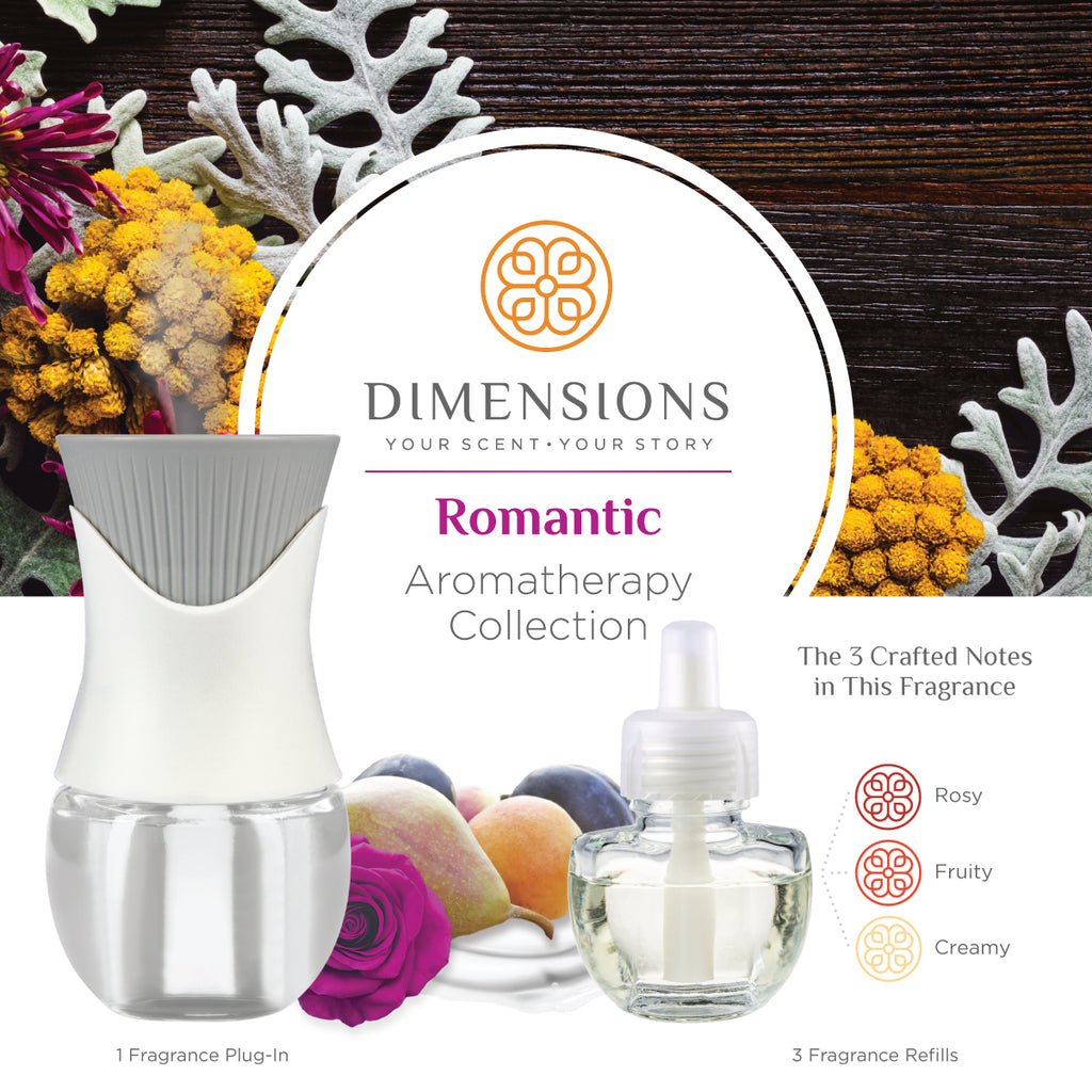 romantic aromatherapy plug in scents