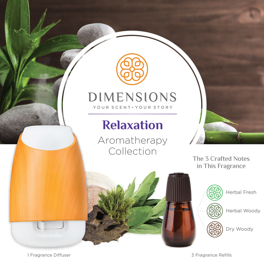 Relaxation Aromatherapy Collection with Diffuser